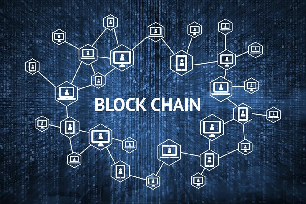 Blockchain network concept. Source: Shutterstock.com