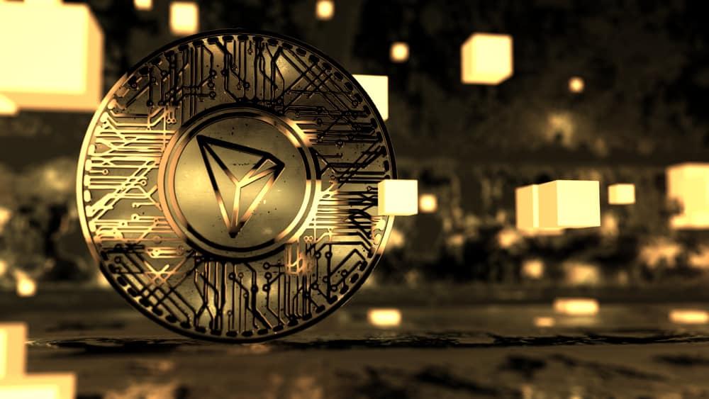 Tron coin. Source: Shutterstock.com