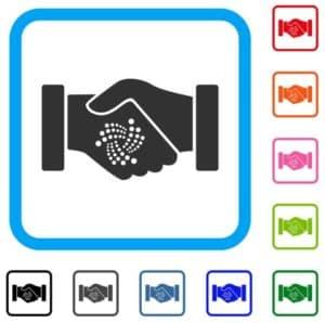 IOTA contract handshake. Source: shutterstock.com