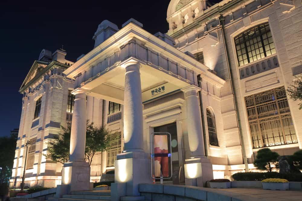 Bank of Korea. Source: shutterstock.com