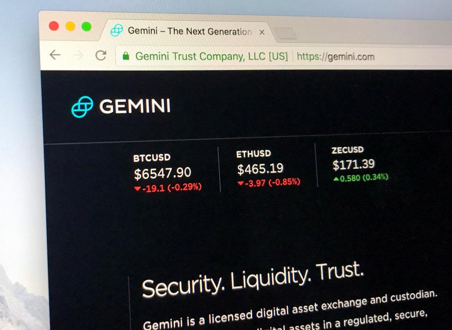 Gemini logo on webpage. Source: shutterstock.com