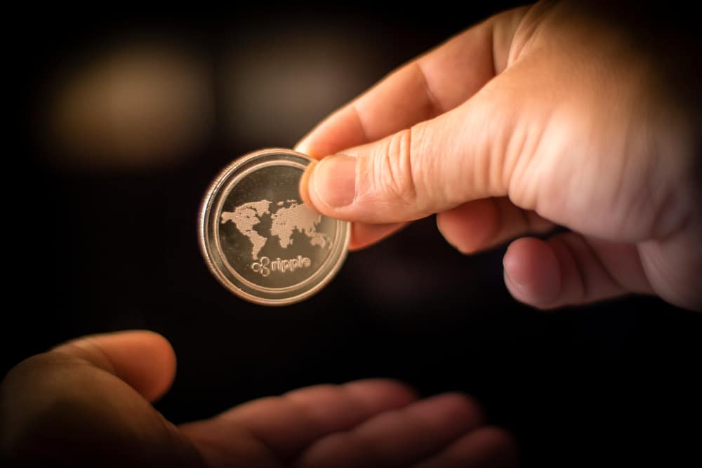 Ripple XRP Coin Money Transfer Crypto Currency - Image