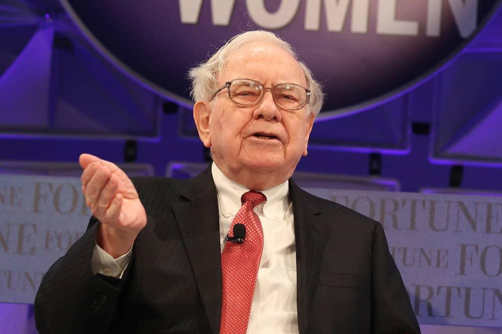 Laguna Niguel, CA, USA; October 8th, 2014; Warren Buffett, Chairman/CEO of Berkshire Hathaway speaks during the 2014 Most Powerful Women Summit. Source: shutterstock.com