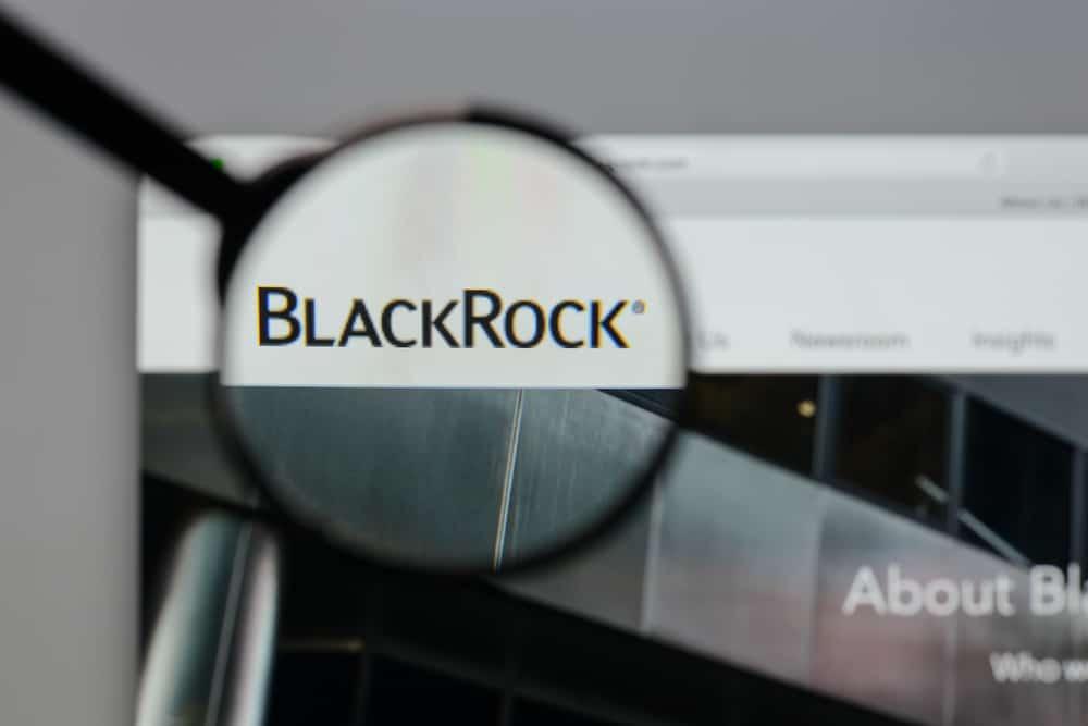 Milan, Italy - August 10, 2017: BlackRock logo on the website homepage. Source: shutterstock.com