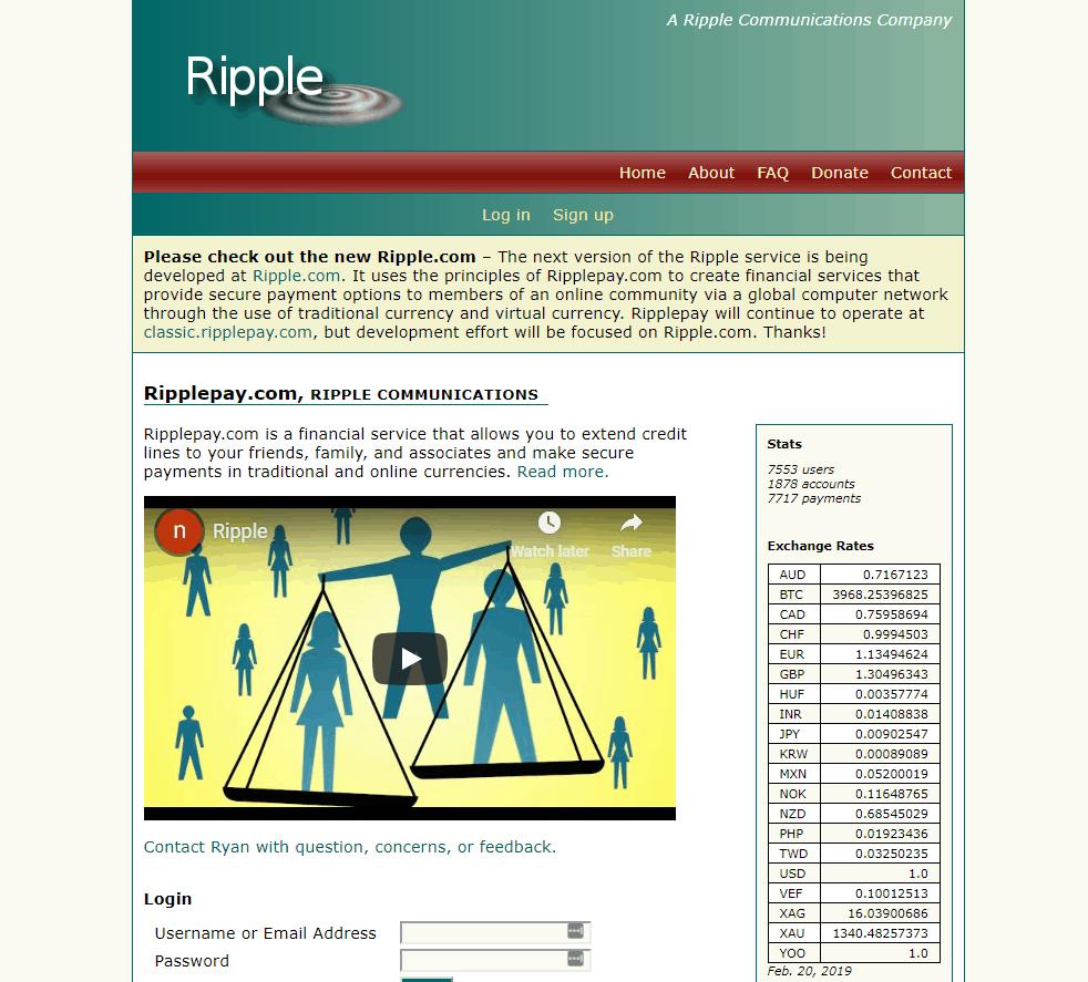 RipplePay Website
