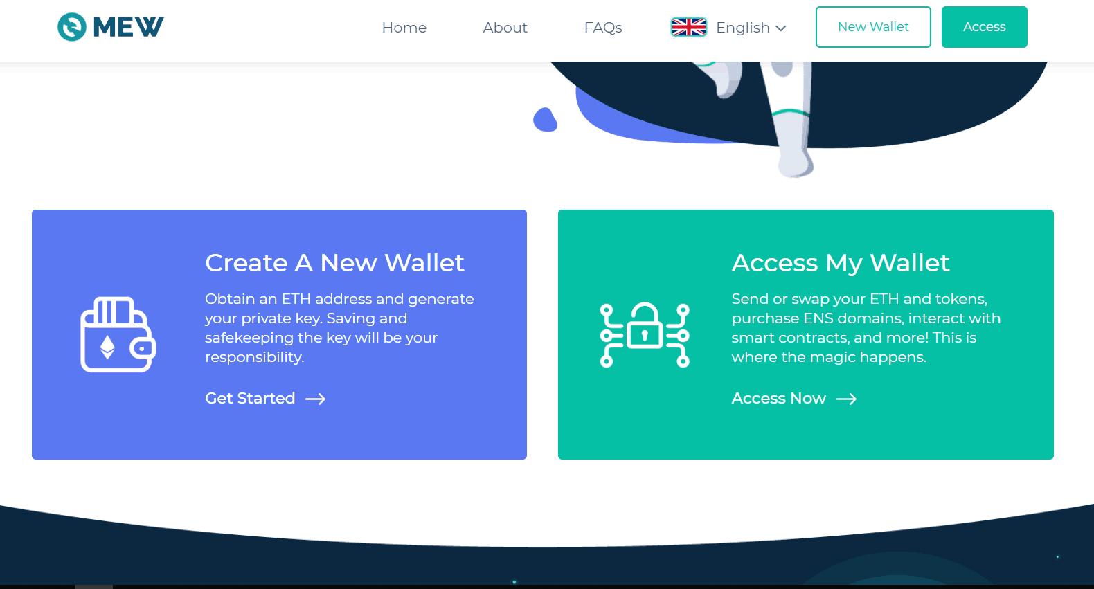 Myetherwallet is the best Ethereum wallet