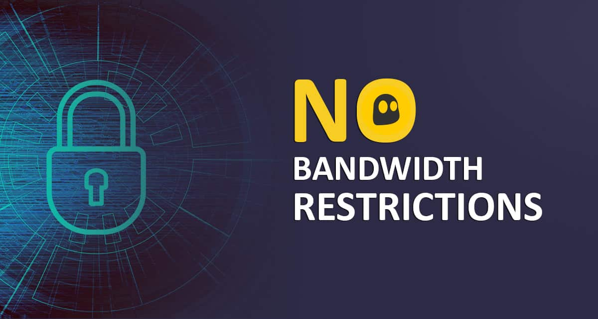 CyberGhost Have No any Bandwidth Restrictions