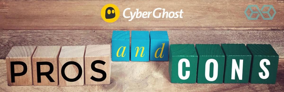 CyberGhost VPN - PRONS & CRONS -Source: ShutterStock.com