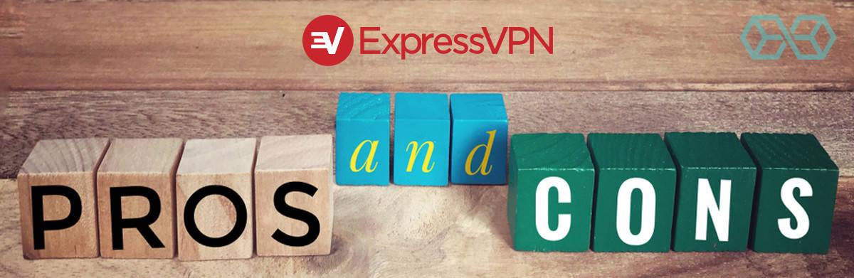 ExpressVPN - PRONS & CRONS - Source: ShutterStock.com