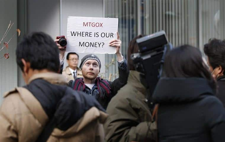 Mt. Gox is letting customers back in to check their balances after it said last month it may have lost 850,000 bitcoins to hackers. -Toru Hanai / Reuters