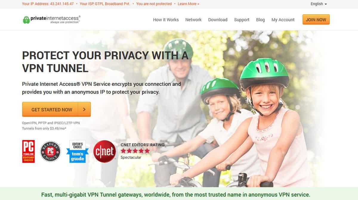 Private Internet Access (PIA)