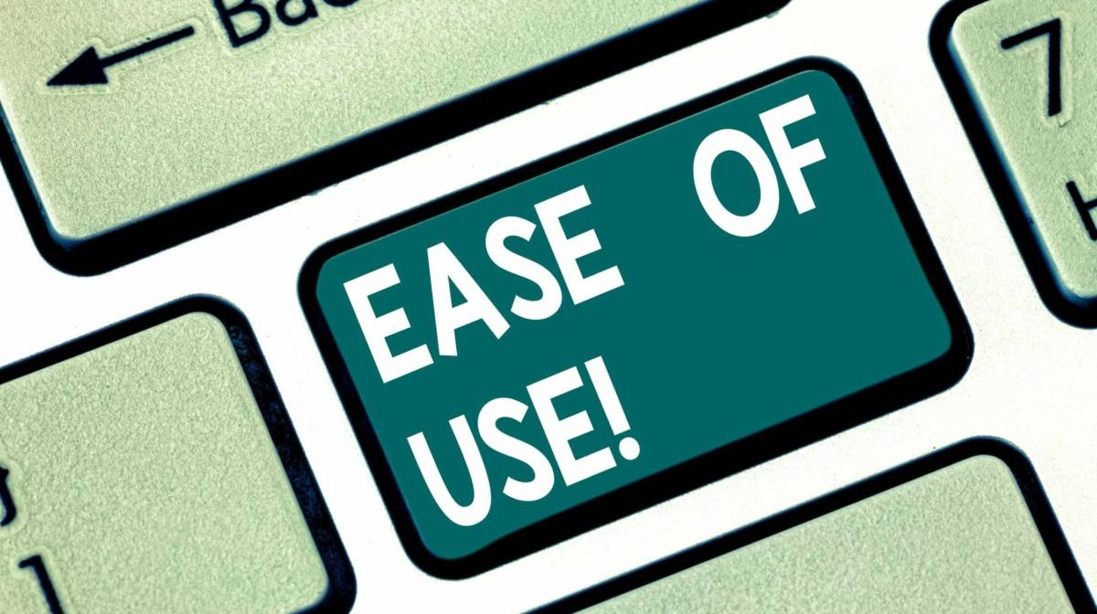 Ease of Use - Source: ShutterStock.com