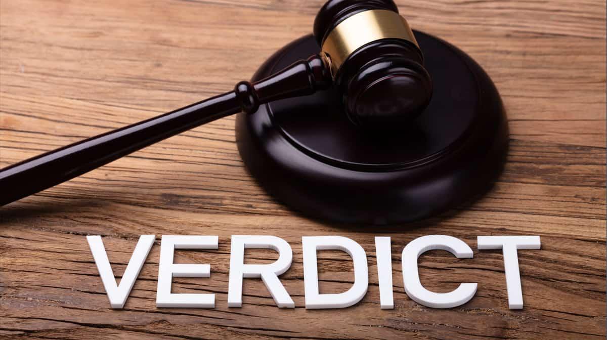 verdict - Source: Shutterstock.com