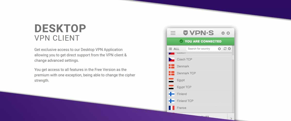 Desktop VPN Client