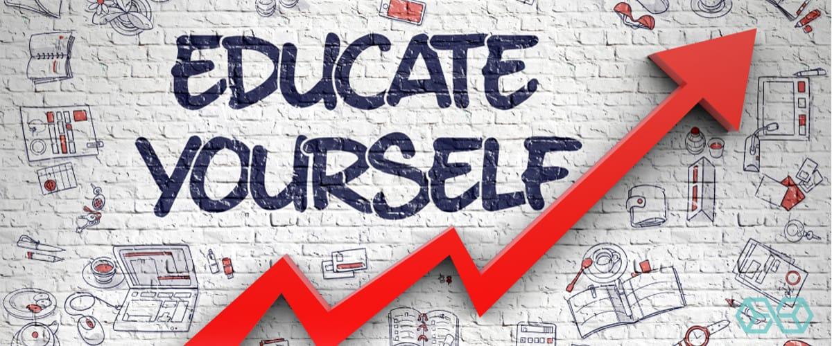 Educate Yourself - Source: Shutterstock.com