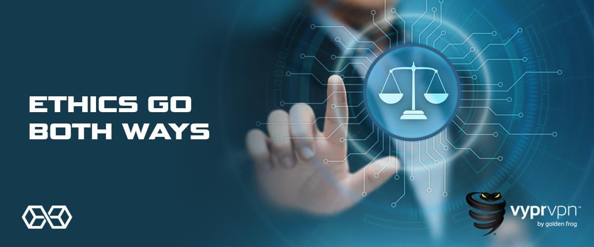 Ethics Go Both Ways - Source: Shutterstock.com