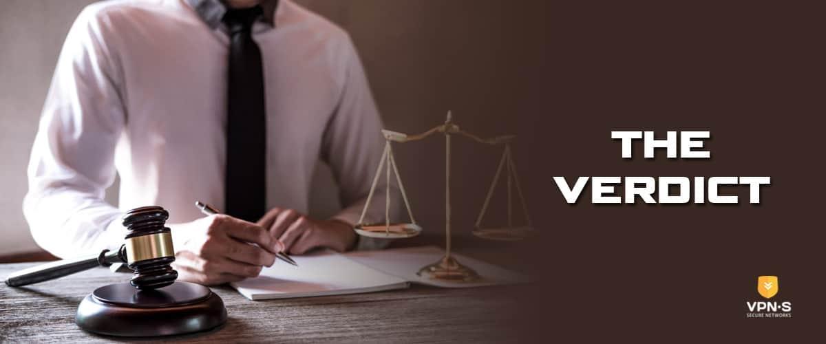 The Verdict - Source: Shutterstock.com