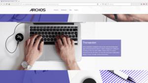 Archos Safe-T Mini site screenshot