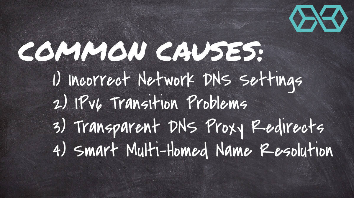 Common Causes of DNS Leaks