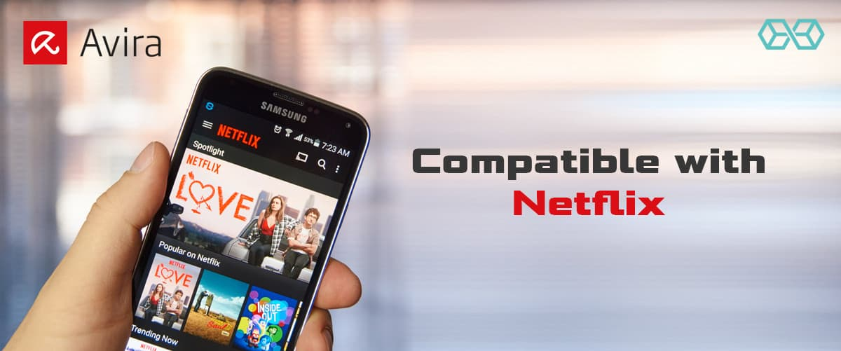 Compatible with Netflix