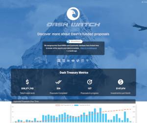 Dashwatch.org Homepage Screenshot