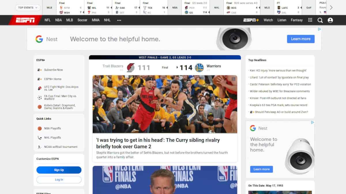 ESPN Sports Streaming