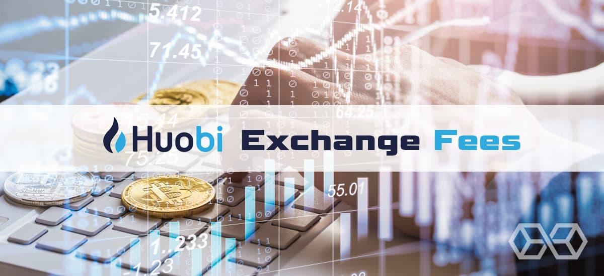 Huobi Exchange Fees - Source: Shutterstock.com