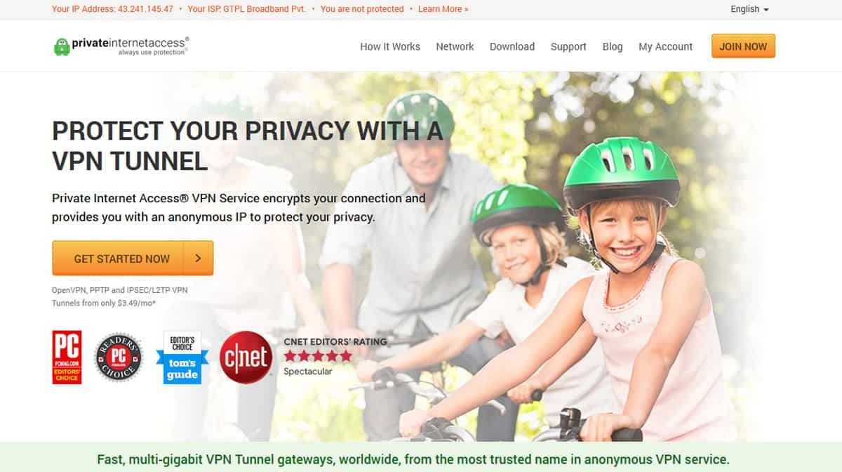 Private Internet Access VPN Source: privateinternetaccess.com