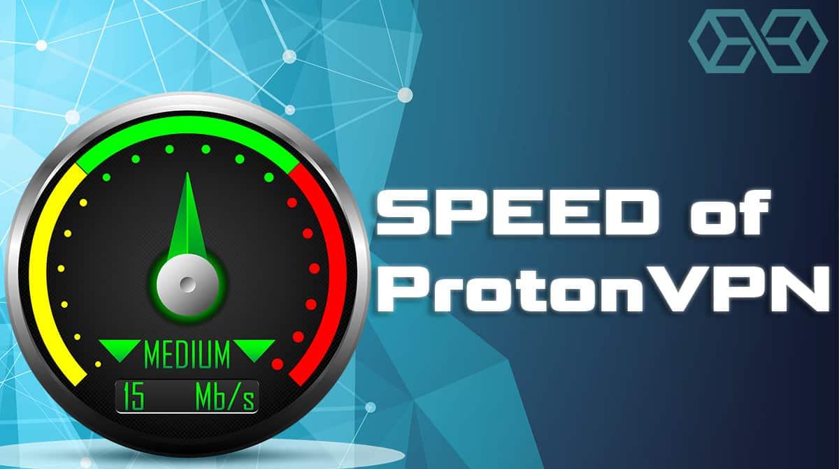 Speed of ProtonVPN