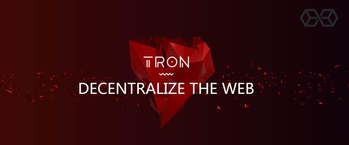 TRON - Decentralize The Web
