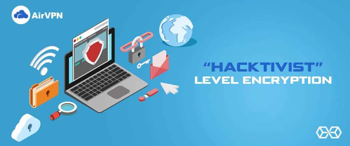 """Hacktivist"" Level Encryption - Source: Shutterstock.com"