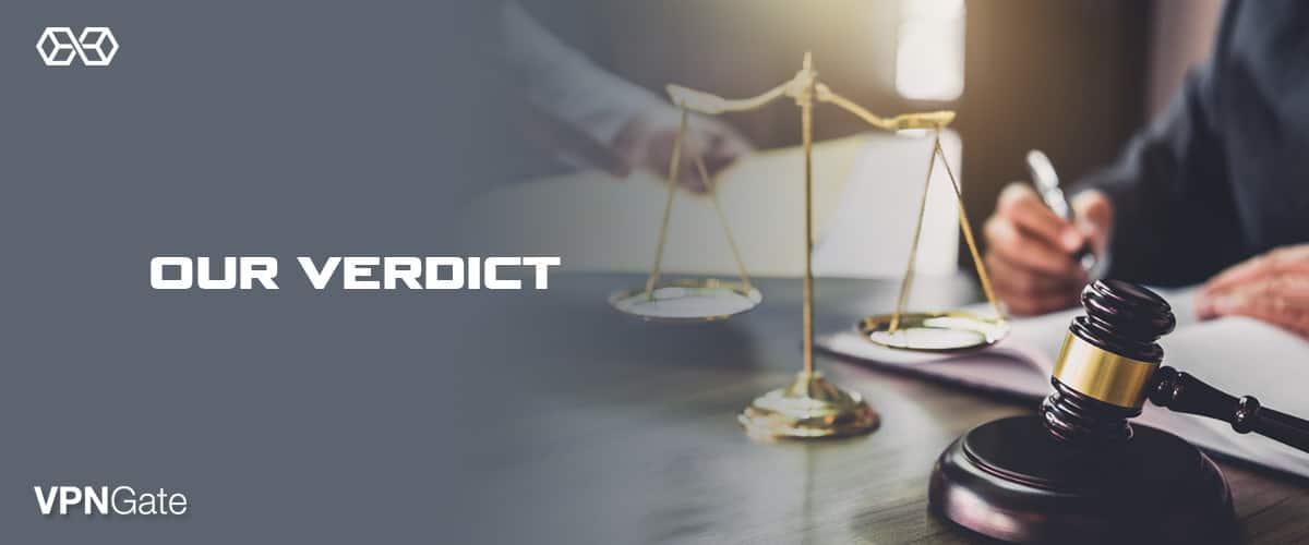 Our Verdict VPN-Gate - Source: Shutterstock.com