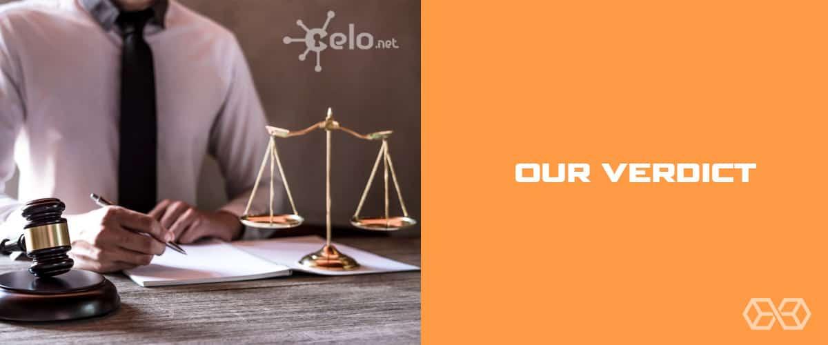 Our Verdict for Celo VPN - Source: Shutterstock.com