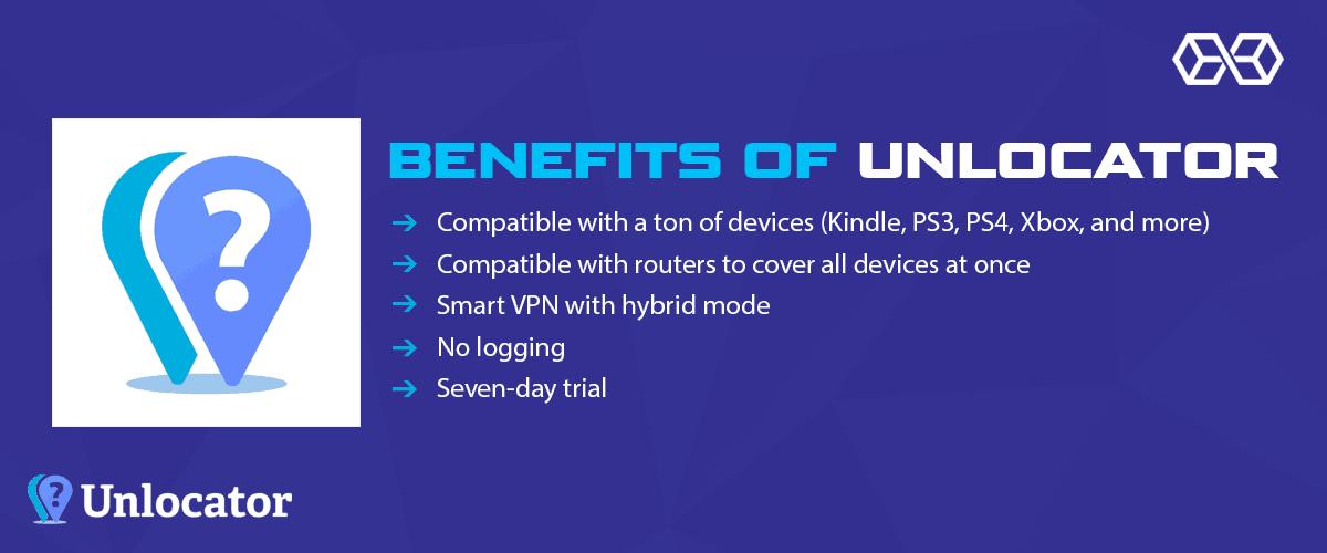 Benefits of Unlocator