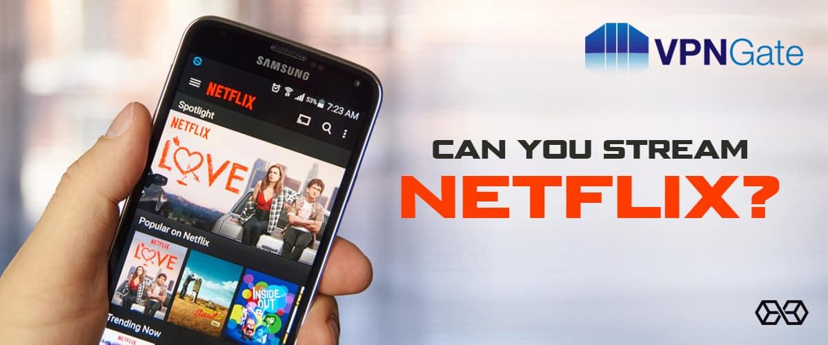 Can You Stream Netflix? - Source: Shutterstock.com