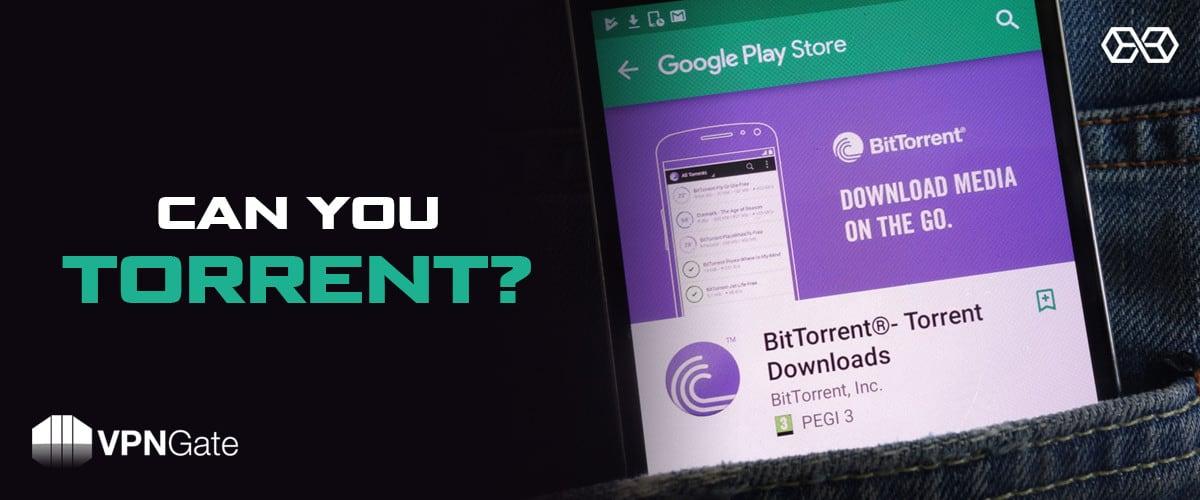 Can You Torrent? - Source: Shutterstock.com