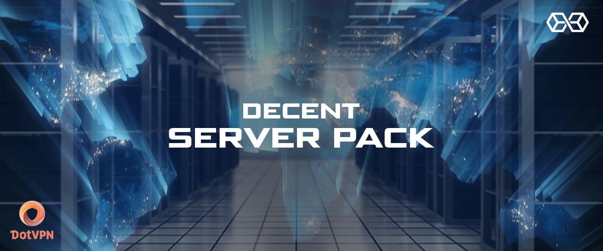 Decent Server Pack DotVPN - Source: Shutterstock.com