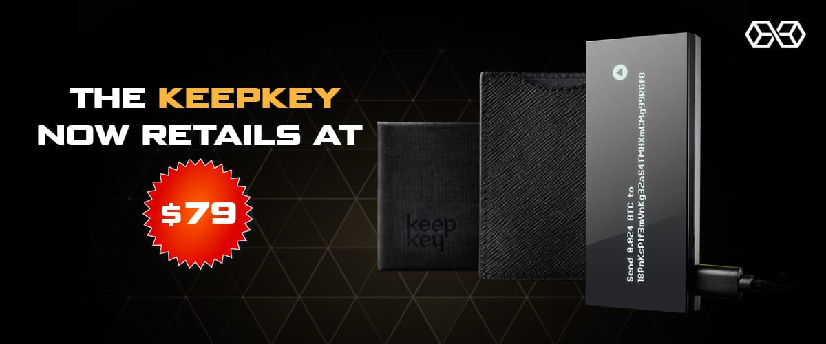 How much is the KeepKey wallet?