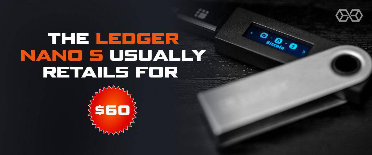 ledger nano s price