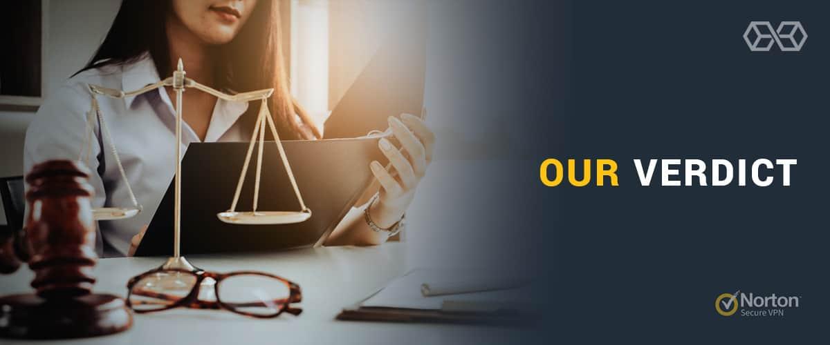Our Verdict for Norton Secure VPN - Source: Shutterstock.com