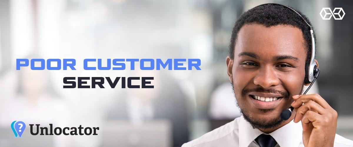 Poor Customer Service - Source: Shutterstock.com