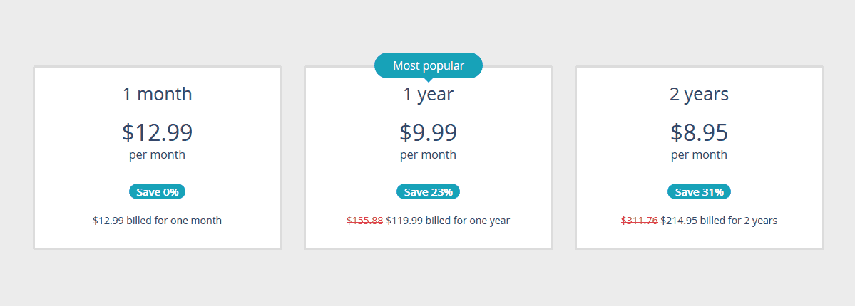 Perfect Privacy VPN Prices