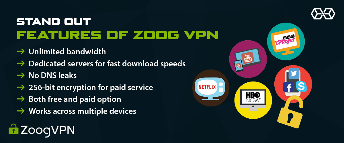 Stand Out Features of Zoog VPN