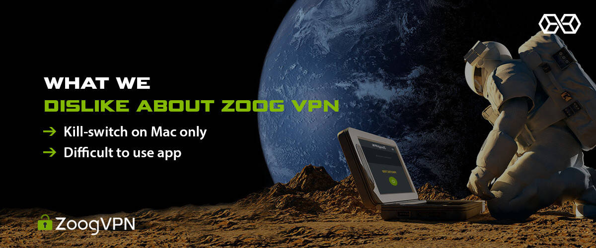 What We Dislike About Zoog VPN