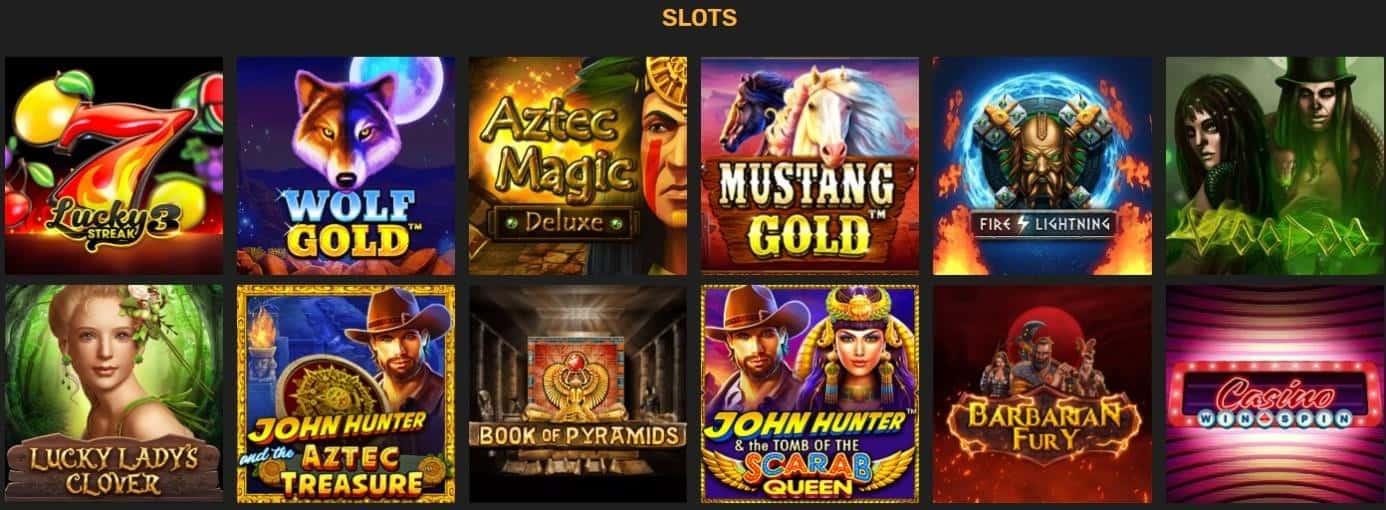 Winz.io Slot Games