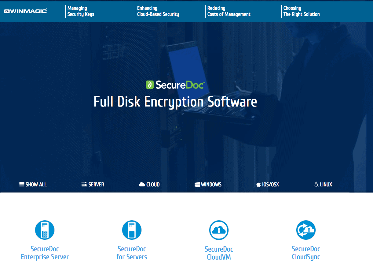 How to encrypt files with securedoc